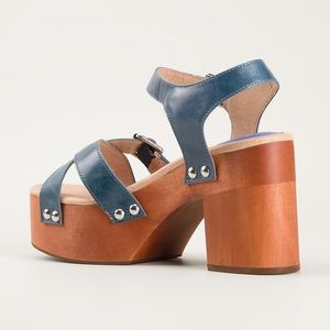 Jeffrey Campbell Peasy in Blue Size 8